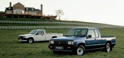 celebremos 40 años de las camionetas pick up Mitsubishi