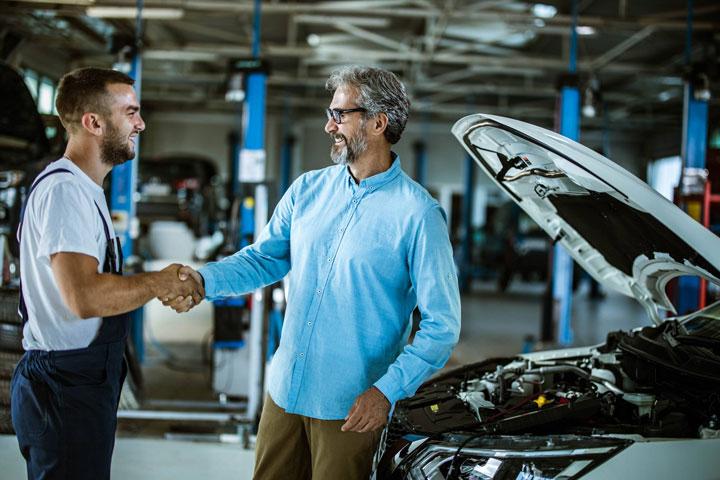 mecanico cliente auto